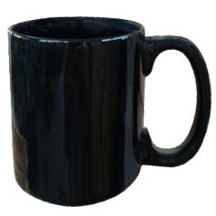 3598-06 Чашка 400мл Черная