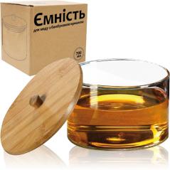 32248 Емкость для меда с бамбуковой крышкой 700мл