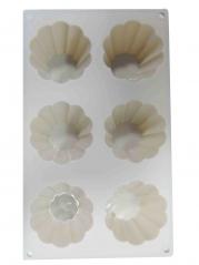 20006 Форма для выпечки кексов 29,5*17,2*3,5см Пастель