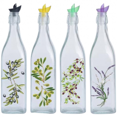 701-14 Бутылка для масла и уксуса микс 1л <a href='http://snt.od.ua/ru/poisk.html?q=Греция' />Греция</a>