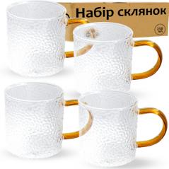 203-3 Набор стаканов 4шт Айс 250мл