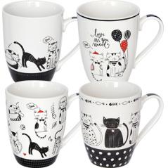 2185-09 Чашка 350мл Cats