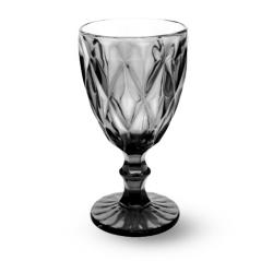 9459-4 Бокал для вина 260мл Грани графит