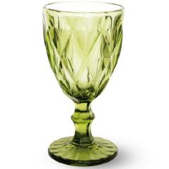9457-3 Бокал для вина 320мл Грани изумруд