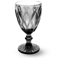 9457-4 Бокал для вина 320мл Грани графит