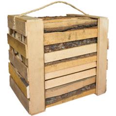 01 Ящик дров ольха 30*22*29см