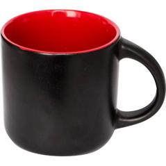 3598-07 Чашка 400мл Black / Red