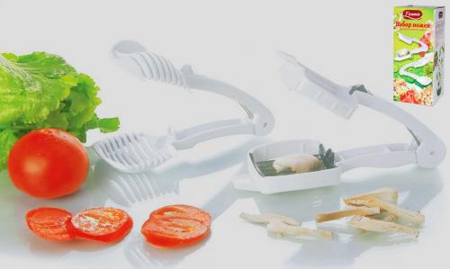 02 Z885 Набор ножей для нарезки помидор/грибов