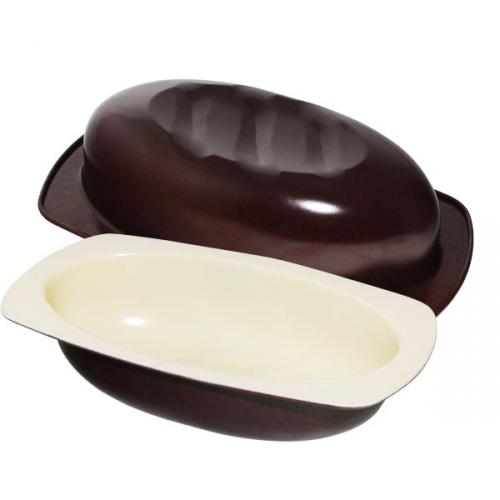 30242 Форма для выпекания хлеба Батон с керам. покрытием 17*32см,h7см,2.2л