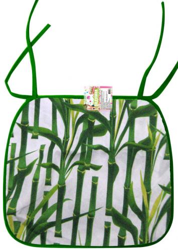 93210 Подушка-сидушка для стула с завязками 35 * 40см <a href='http://snt.od.ua/ru/poisk.html?q=Бамбук' />Бамбук</a>